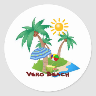 VERO BEACH Perfect Vacation sticker