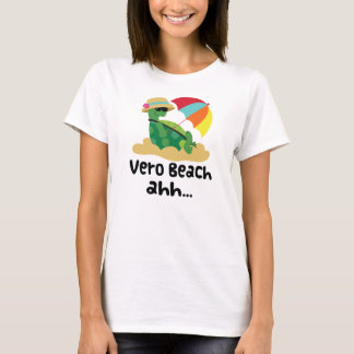 Vero Beach (Turtle on Beach) T-Shirt