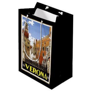 Verona CIty in Italy Medium Gift Bag