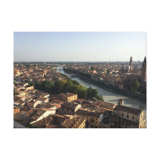 Verona in the sun canvas print