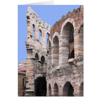 Verona, Italy Arena  -  Blank Inside Greeting Card