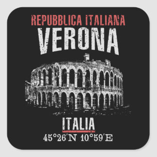 Verona Square Sticker