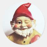 Veronica the Gnome Round Sticker