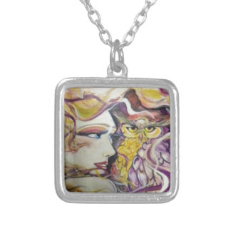 VeronicaWeaverakaVons Forest Princess Silver Plated Necklace
