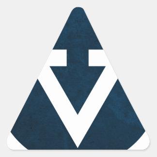 VeronnaCorralResume_LogoBlue.png Triangle Sticker