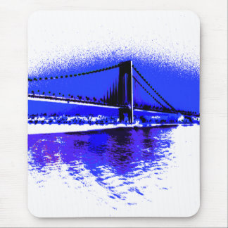 Verrazano Violet Bridge mousepad