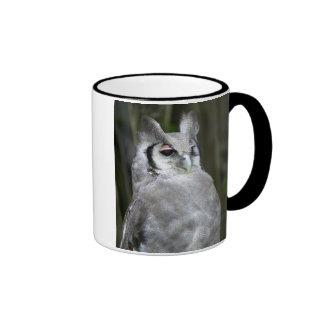 Verreaux's Eagle-Owl (Bubo Lacteus), Gauteng Ringer Mug