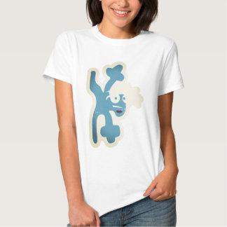verrückte Kreatur als Breakdancer Tee Shirt