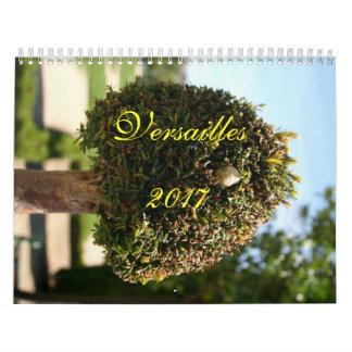 Versailles Calendar 2017