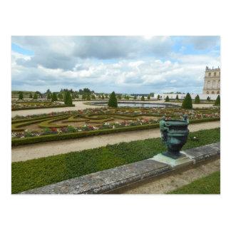 Versailles Chateau Gardens Postcard