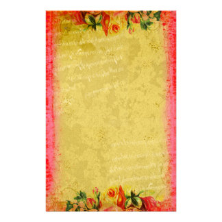 Versailles Collection Roses Stationery