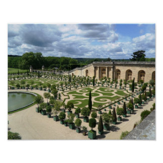 Versailles Gardens Orangerie France Palace Poster