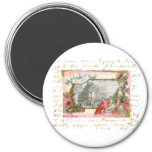 Versailles Marie Antoinette Elegance Collage 7.5 Cm Round Magnet