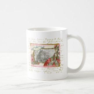 Versailles Marie Antoinette Elegance Collage Coffee Mugs