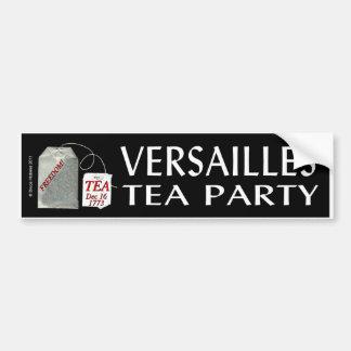 VERSAILLES TEA PARTY BUMPER STICKER