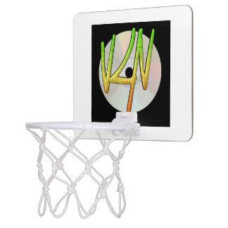 Verse4verse Logo Mini Basketball Hoop