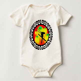 Vertical Air Baby Bodysuit
