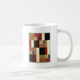Vertical and horizontal composition Sophie Taeuber Basic White Mug