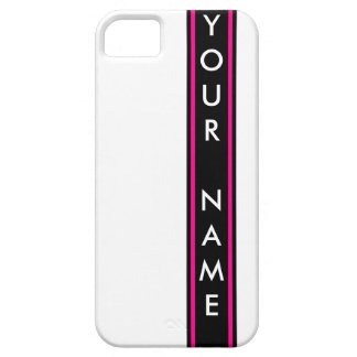 Vertical Bar Customized iPhone 5 Cases