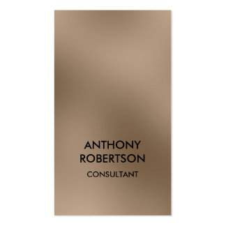 Vertical Browny Beige Attractive Business Card