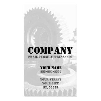 Vertical Gears Business Card