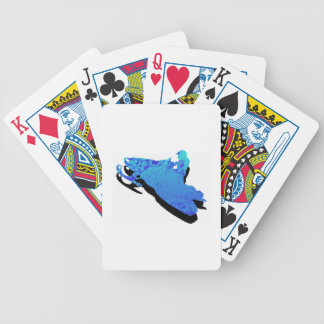Vertical Heights Bicycle Playing Cards