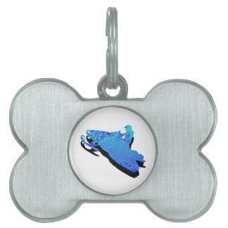 Vertical Heights Pet ID Tag