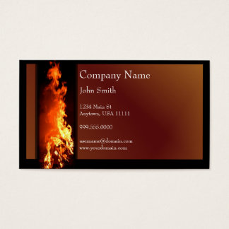 Vertical Inferno Business Card