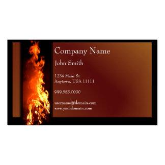 Vertical Inferno Business Card