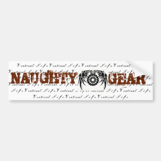 Vertical Life Naughty Gear Sticker