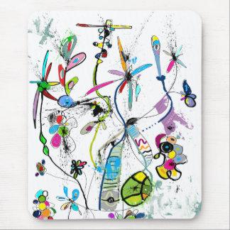 Vertical mouse mat Alice' S Garden