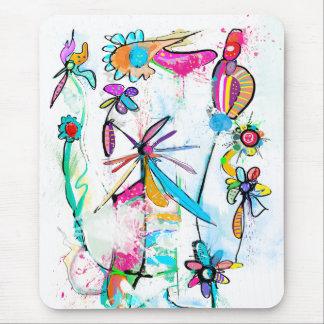 Vertical mouse mat Alice' S Garden II
