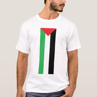Vertical Palestinian Flag T-shirt