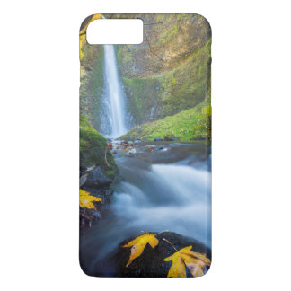 Vertical panorama view of Tunnel Falls iPhone 7 Plus Case