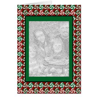 Vertical Peppermints Card