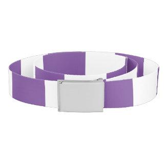 Vertical Purple Stripes Belt