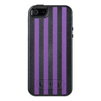 Vertical Purple Stripes OtterBox iPhone 5/5s/SE Case
