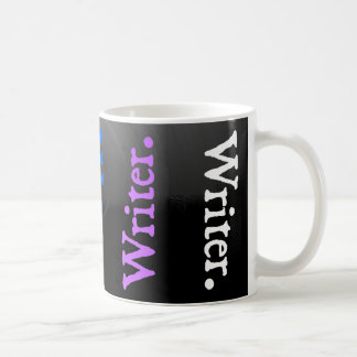 Vertical Reversal Colorsplash Writer. Coffee Mug