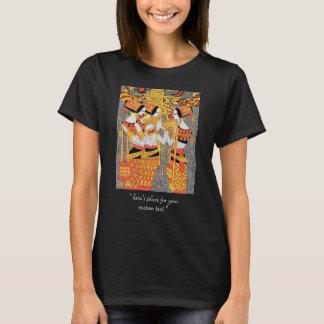 Vertical Song oriental egyptian ladies woman girls T-Shirt