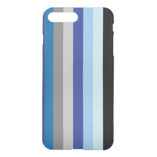 Vertical Stripes In Winter Colors iPhone 7 Plus Case