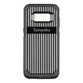 Vertical Stripes & Ribbon Design Design Otter Box OtterBox Commuter Samsung Galaxy S8 Case