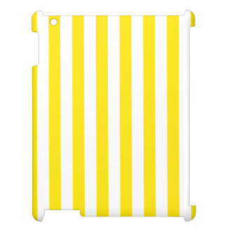 Vertical Yellow Stripes Case For The iPad