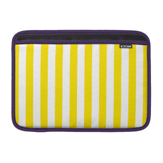 Vertical Yellow Stripes Sleeve For MacBook Air
