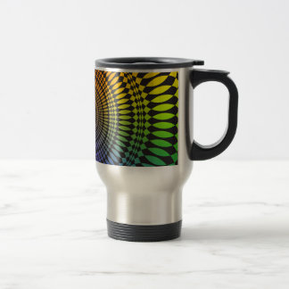 Vertigo: Abstract Design: Travel Mug