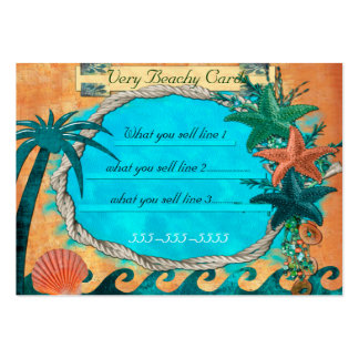 Very Beachey For Local BOUTIQUE BEACH Business Cards