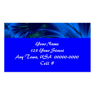 Very Blue Pack Of Standard Business Cards