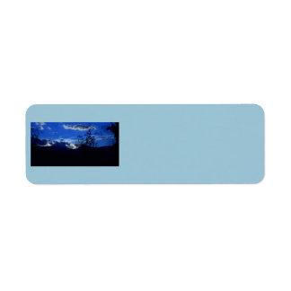 Very Blue Ridge Mountains Address Labels