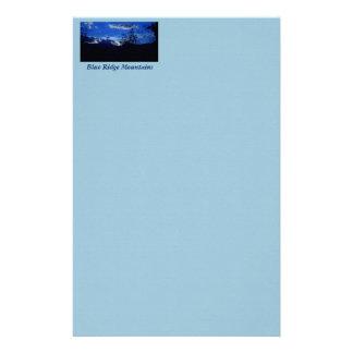 Very Blue Ridge Mountains Stationery