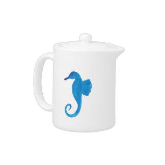Very Blue Sea Horse