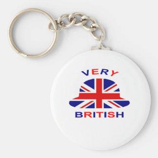 very british key chain